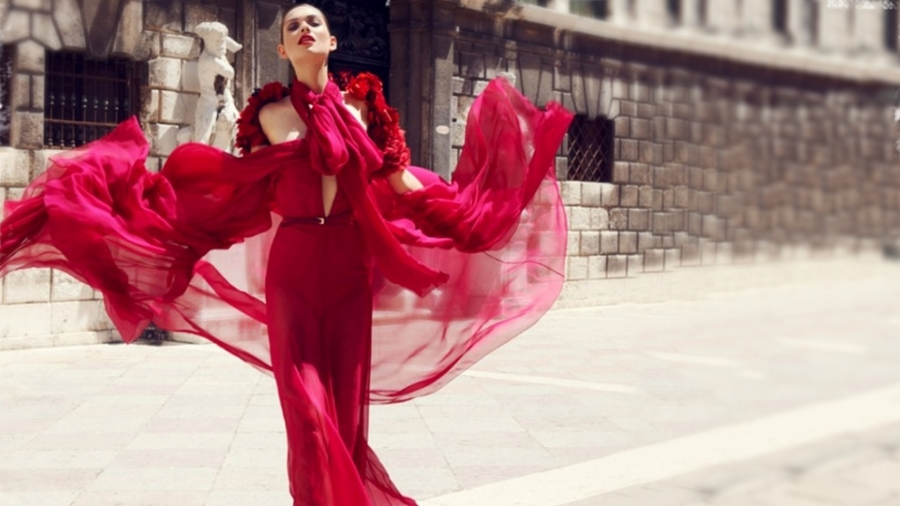 red-dress-galliano